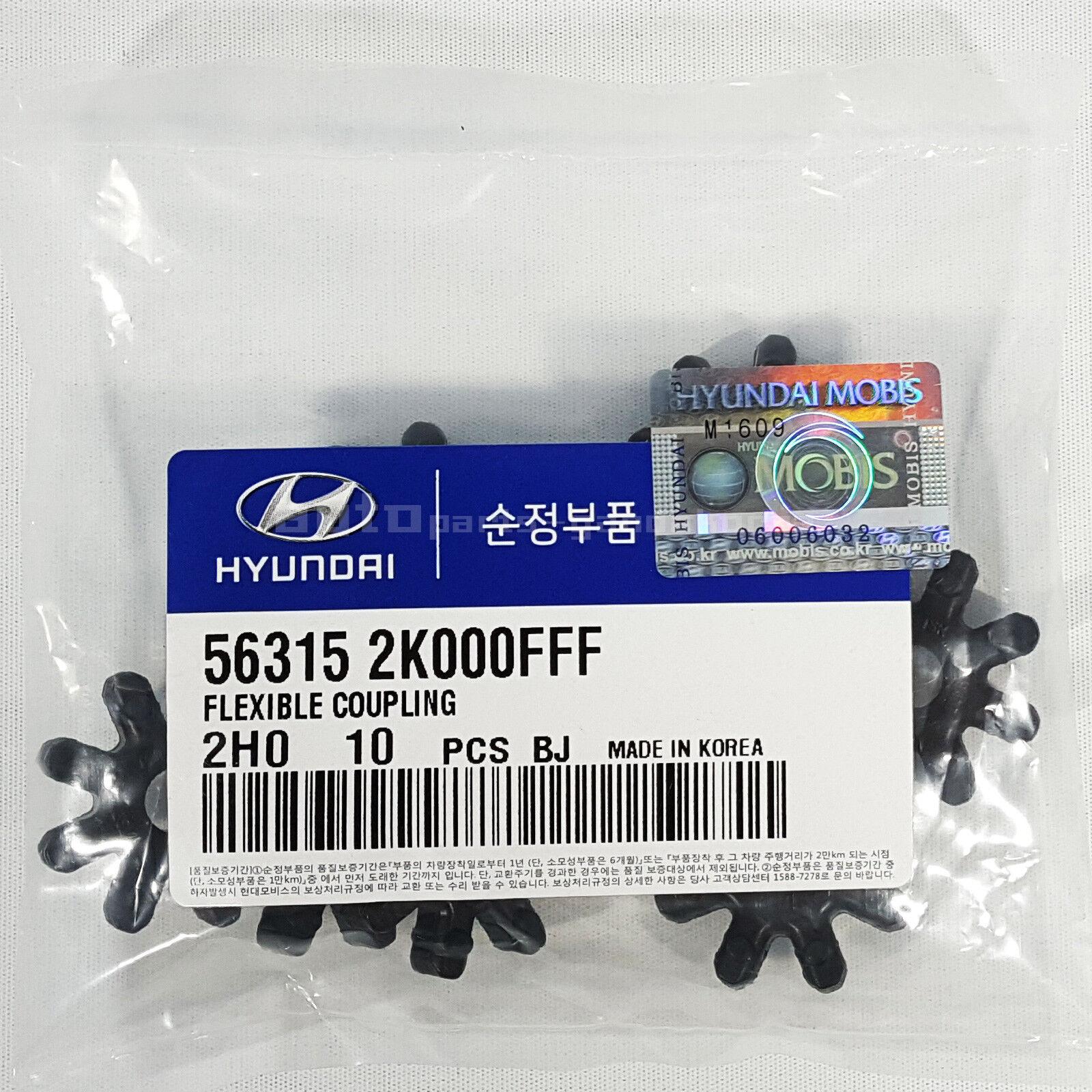 Genuine Flexible Coupling Steering Coupler 56315 2K000FFF 1pcs For Hyundai Kia