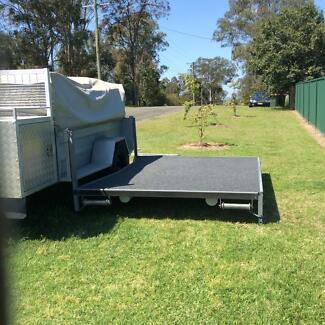 Camper trailer with hard floor Ellalong Cessnock Area Preview