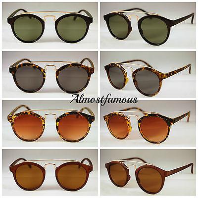 80er Jahre Retro Mode Sonnenbrille Vintage Gaga Rund # Hipster Gute Qualität