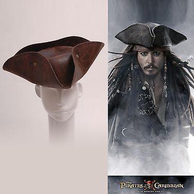 Pirates of the Caribbean Jack Sparrow Tri Corner Buccaneer Adult Hats Cosplay