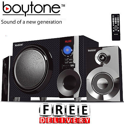 Speaker System 2.1 Multimedia USB SD Bluetooth Portable Stereo Audio System Portable Stereo Multimedia