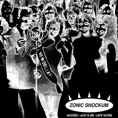 "Used, ZONIC SHOCKUM debut vinyl 7"" single rare OOP Philly indie punk rock Philadelphia for sale  Shipping to South Africa"