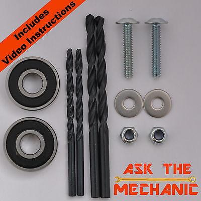 Renault Megane Scenic II Drivers Wiper Arm Repair Bearing, Manual & Drills Kit C