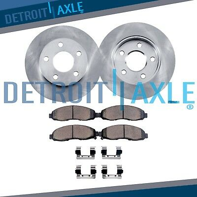 (Front Brake Rotors & Ceramic Pads 2004-2007 2008 Chevy Malibu 4-Cyl J66/J67 CODE)