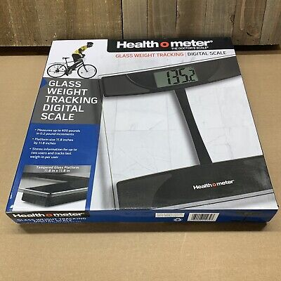 Health O Meter Digital Weighting Scale Glass Weight Tracking Scale