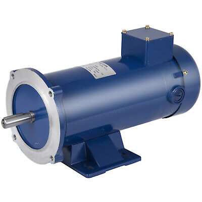Dc Motor 1hp 56c 90vdc 1750rpm Tefc Permanent Magnet