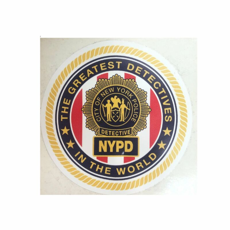 NYPD Greatest Detectives in the World Sticker