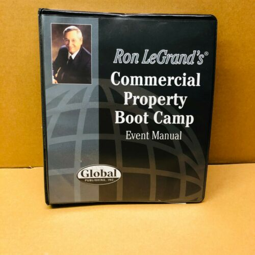 Ron LeGrand Commercial Property Boot Camp Event Manual