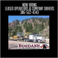LOOKING FOR LEASED OPERATORS & COMPANY DRIVERS
