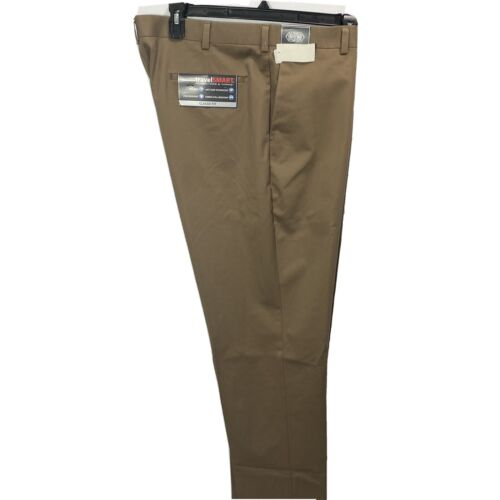 Roundtree & Yorke Travel Smart Ultimate Comfort Classic Fit Pants 40×36 Chino Clothing, Shoes & Accessories