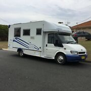 2006 Sunliner Eclipse Ford Transit Motorhome Tuncurry Great Lakes Area Preview