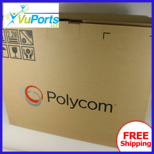 NEW Polycom RealPresence Group 310 1080p | Complete | EE Acoustic | Dual Display