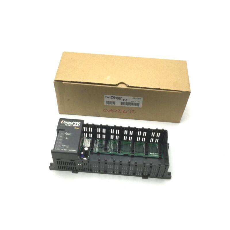 PLC Direct D2-06B Direct Logic 205 Do-More H2 Series PLC Base 6-Slot 110/220VAC