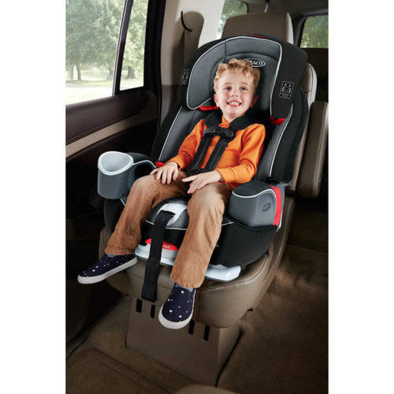 3in1 Harness Booster Car Seat Baby Kids Toddler Travel Safety Chair ...