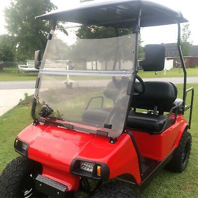 Fit Club Car DS Tinted Windshield 2000.5 -UP Golf Cart Folding Acrylic