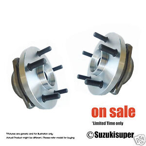 2-x-Jeep-Cherokee-4WD-WJ-WG-4WD-6-99-3-05-Front-Wheel-Bearing-Hub-Assembly-Pair