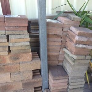 Mixed sizes and colors of pavers Cardiff Lake Macquarie Area Preview