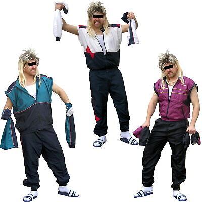 80er Jahre Retro Trainingsanzug, Jogginganzug, Karneval Kostüm (80er Jahre Trainingsanzug)