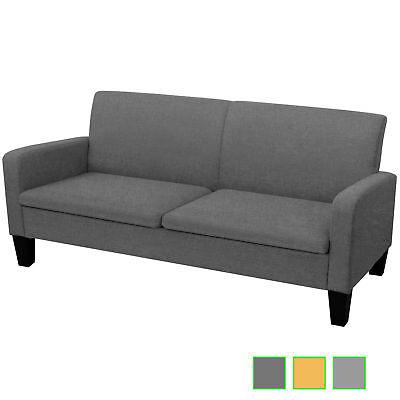 vidaXL 3-Sitzer Sofa Sofagarnitur 2er Sitzer Couchgarnitur mehrere Auswahl