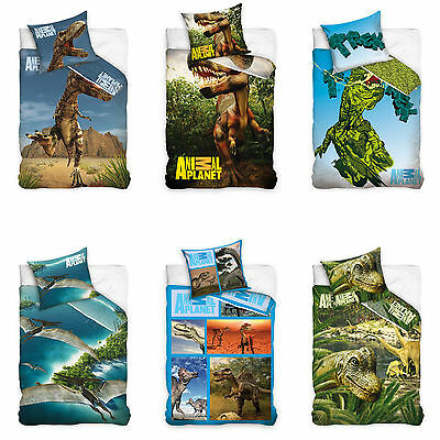 Animal Planet Bettwäsche Dinosaurier Bed Linen Dinosaur Dino