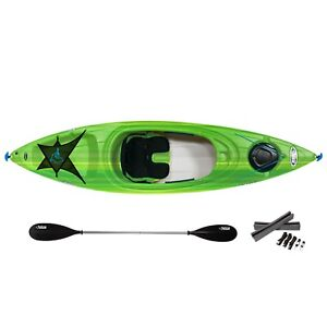 Pelican Tailwind 10' Kayak with Paddle, Car-Top Carrier Instock!