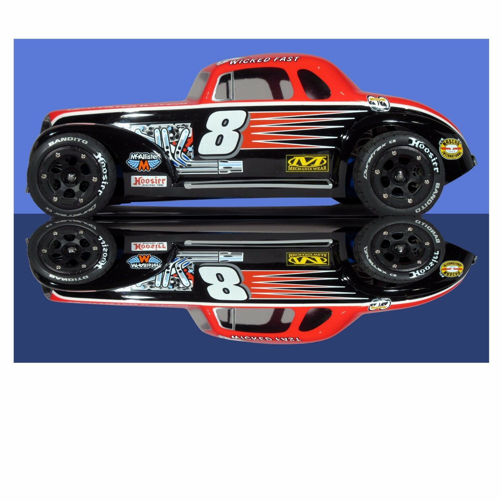 Car Body Parts >> 1 8 Clear Rc Car Body Ascot Modified Slash Short In Toys