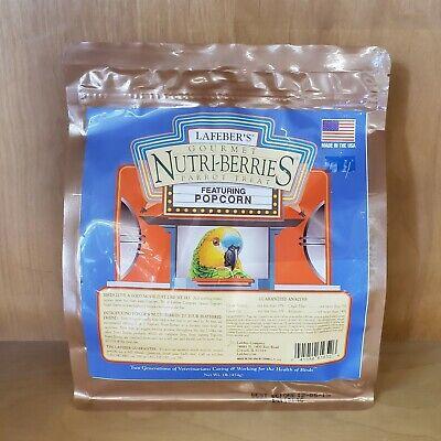 Large Popcorn Nutri-Berries Bird Treat 1 pound bag Large Bird Treat