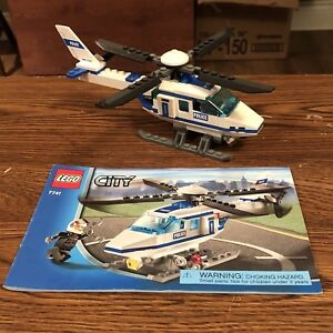 Lego City - Police Helicopter Set 7141 EUC