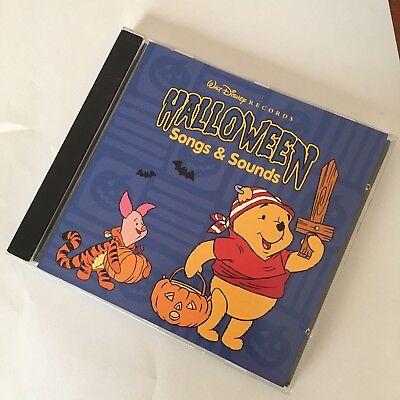 Winnie Pooh Halloween Songs (CD Halloween Sound Effects FX SFX Songs & Sounds Winnie The Pooh Disney)