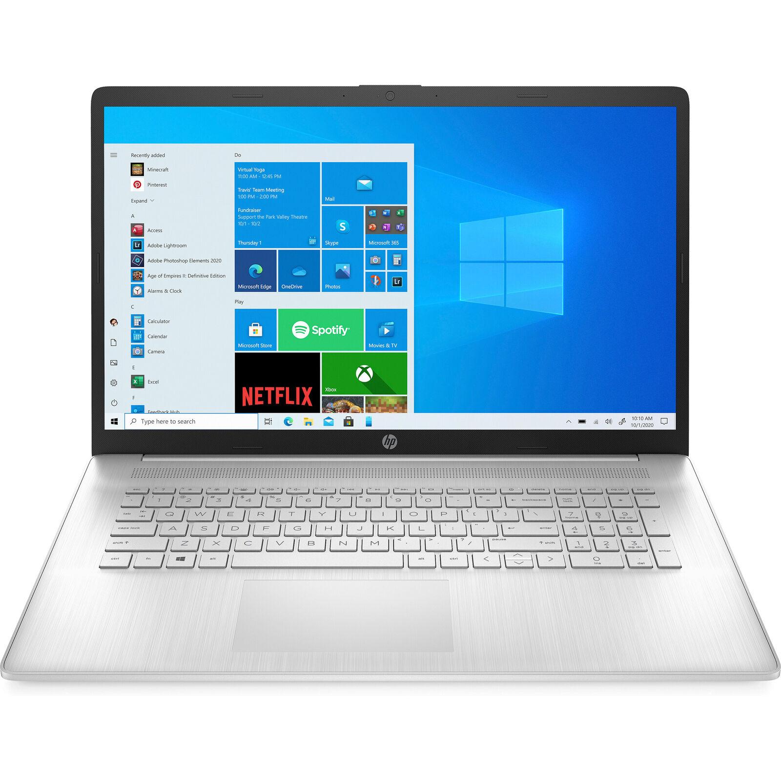"""HP 17.3"""" Touchscreen Laptop AMD Athlon Gold 3150U 8GB DDR4 5"""