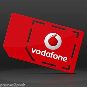 VODAFONE PAYG PAY AS YOU GO TRIPLE SIM CARD FOR IPHONE 4 ...