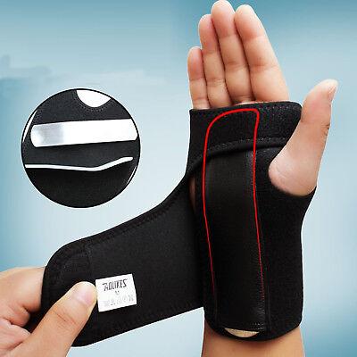 Breathable Wrist Brace Support Carpal Tunnel Splint Arthritis Sprain Pain (Wrist Splints Carpal Tunnel)