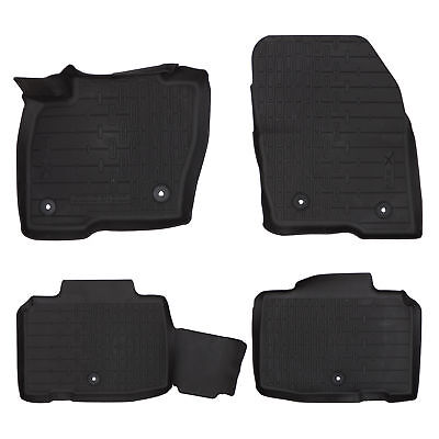OEM NEW Front Rear All Weather Floor Mats Rubber 16 18 Lincoln MKX HA1Z5813300AA