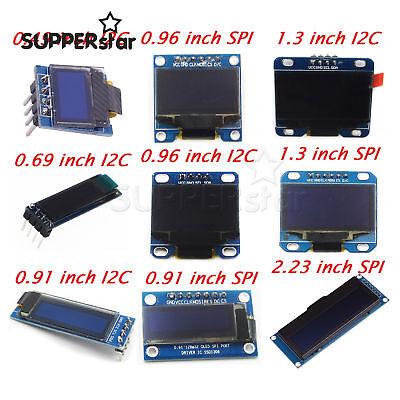 0.490.690.910.961.32.23 Inch Oled Display Module Iic I2c Screen For Arduino