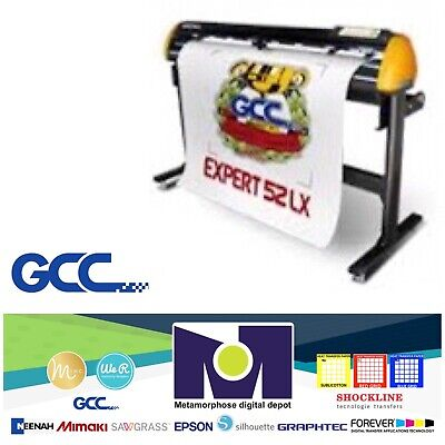 Gcc Expert Ii-52 Lx Vinyl Cutter For Sign And Htv 52 Free Shipping