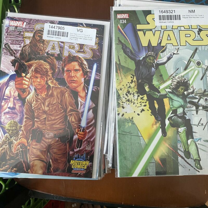 Marvel's Star Wars 1-75 COMPLETE SET 2015-2020