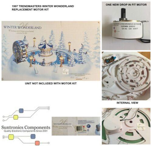 Trendmasters - Winter Wonderland - REPLACEMENT MOTOR -PARTS KIT