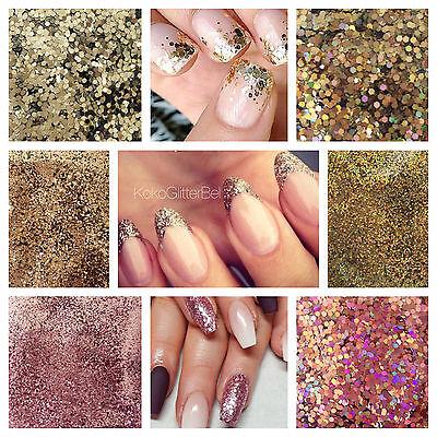 Champagne Edition Glitter   1 Tsp   Gel Nail Art   Acrylic   Nail Design   Holo