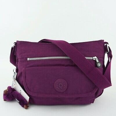 KIPLING SYRO Travel Shoulder CrossBody Bag Orchid Violet