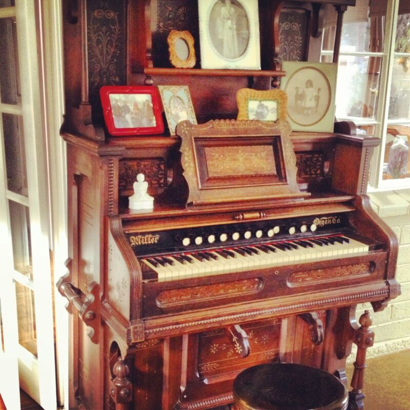 1873 Victorian Parlor Organ ONE OF A KIND in Beautiful Working Condition!