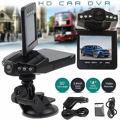 2.5″ Car Vehicle Dash DASHBOARD CAMERA IR DVR Cam CCTV NIGHT VISION RECORDER