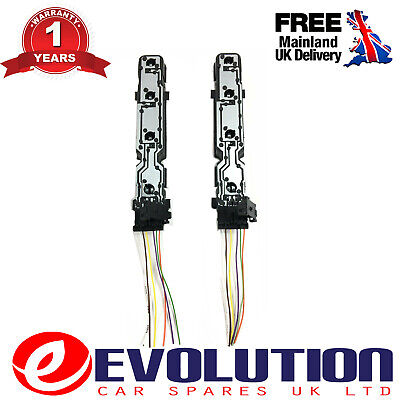 2 X  REAR LIGHT LAMP BULB HOLDER + WIRING LOOM CONNECTORS FITS FORD TRANSIT MK7