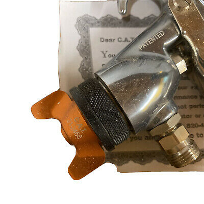 Ca Technology Hvlp Furnture Or Auto Spray Gun. Never Used. Gun Only