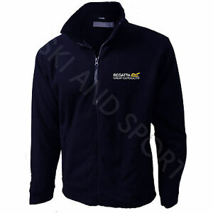 Regatta Jacket Mens Fleece Micro Full Zip New Embroidered Logo New Regatta