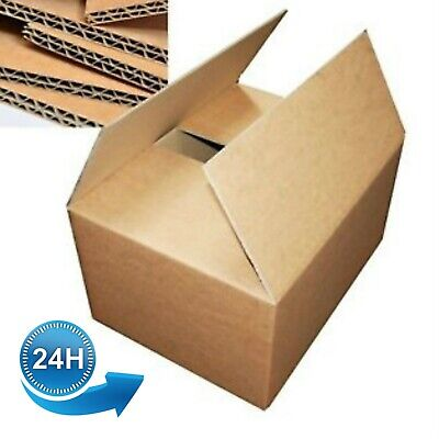 20 DOUBLE WALL18X12X12 CARDBOARD BOXES FOR PACKING MOVING HOUSE STORAGE REMOVAL
