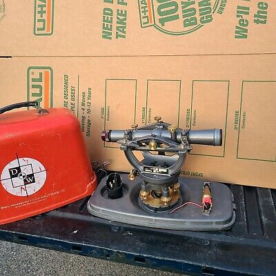 David White Dw-8300 Surveying Level Transit Instrument W Case