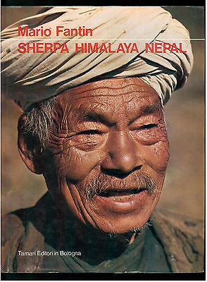 FANTIN MARIO SHERPA HIMALAYA NEPAL TAMARI 1973 MONTAGNA ALPINISMO