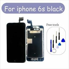 """Black For iPhone 6s 4.7"""" LCD Screen Replacement Digitizer Camera"""