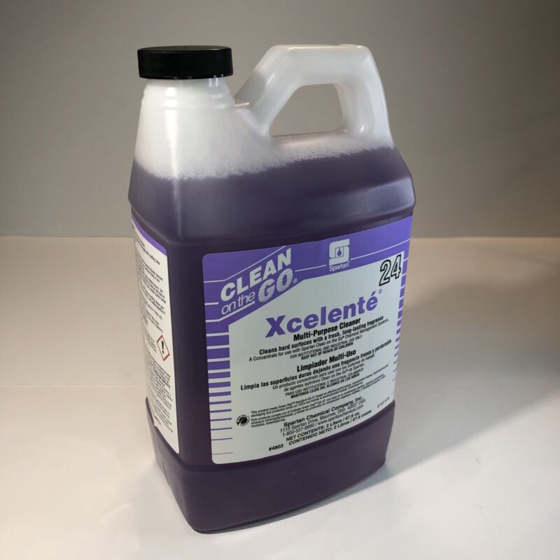 Spartan XCELENTE Cleaner Multi-purpose Concentrate Industrial Lavender 2Liter