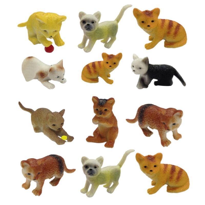 Fake Toy Dogs : Miniature plastic animals ebay